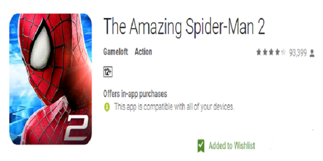 Download Amazing Spiderman 2 for free on Any Device